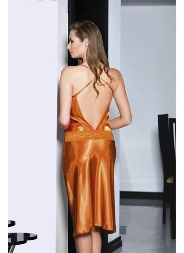 AhuLingerie Gecelik Oranj